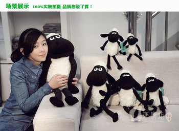 Shaun the Sheep 32cm cartoon dolls, girls day gift to send their children doll dolls plush toys wholesale Free Shipping