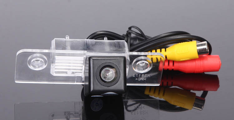 CCD Car Rear View Camera for Skoda Octavia Reverse Backup Review Reversing Parking kit Monitor Sensor Waterproof Free Shippping(China (Mainland))