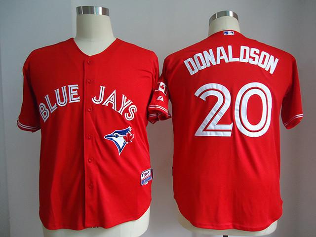 20 Josh Donaldson red