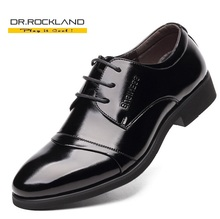 New 2016 Full Grain Leather Men Dress Shoes European Fashion Style Man Classic Business Social Sapato Male Lace-Up Oxfords Flats