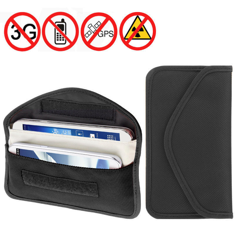 Real cell phone tracker - signal blocking cell phone bag