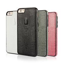 crocodile grain pu phone case for iphone6s 5.5inch Leather Mobile phone shell cases for iphone 6s plus phone back cover