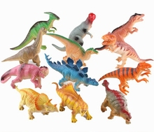 Buy 12pcs/set BB sound dinosaurs Toys children boys animals cartoon plastic dinosaur models action figures Tyrannosaurus Rex for $20.98 in AliExpress store