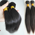 Smooth 10A Grade Brazilian Virgin Hair Bundle Deals 2PC Brazilian Straight Hair Weave Queens Hair Products