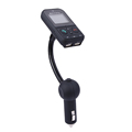 Bluetooth Car Kit MP3 Player FM Transmitter Modulator LCD Display with Dual USB Charger Handsfree Car