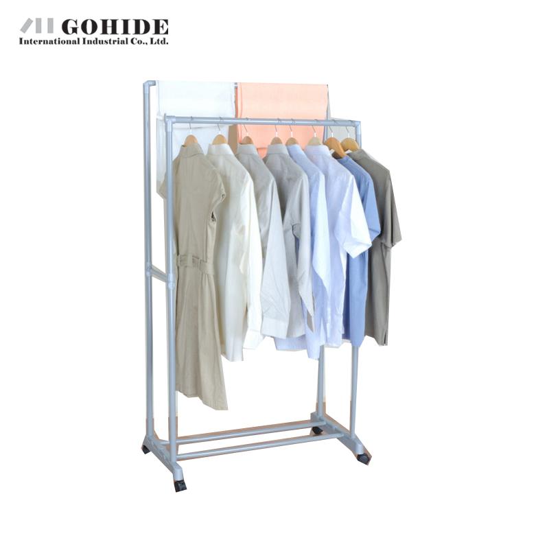 Gohide 2016 New Arrival Modern Floor Coat Rack Multi-Functional Racks Drying Rack Yj90-2 Coat Racks Living Room Furniture(China (Mainland))