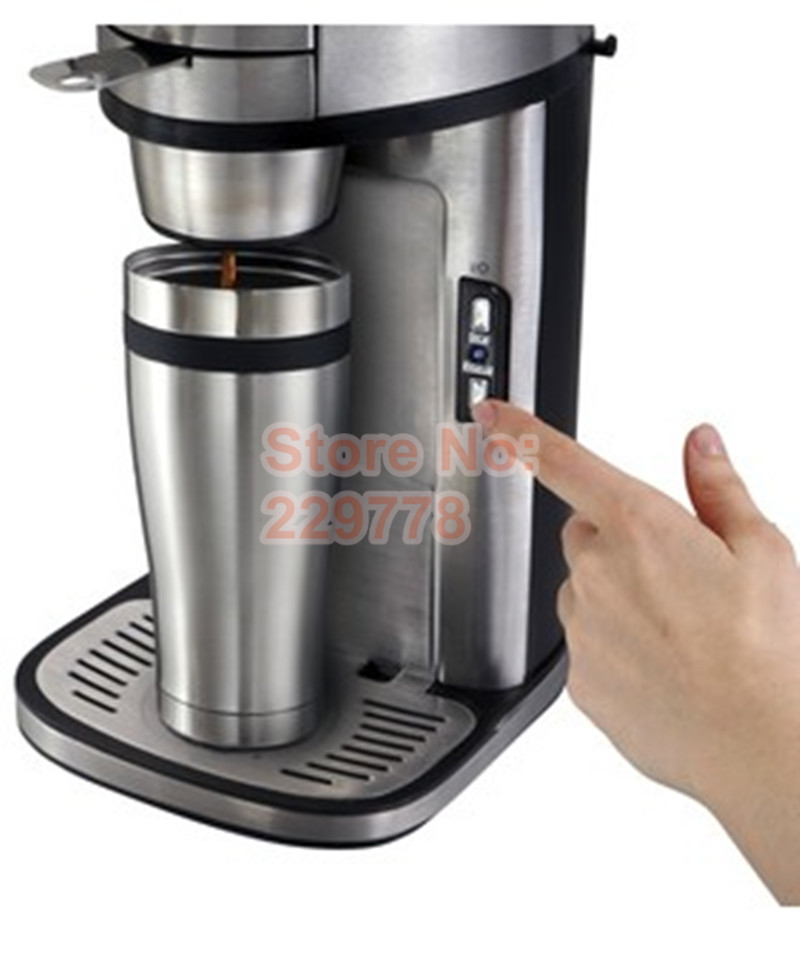 Fully Automatic Drip Coffee Maker Stainless Steel Body