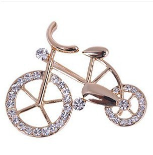 br009 Hot Bike Lovers Impeccable Brooch Gifts Bicycle Brooches Jewelry Wholesale