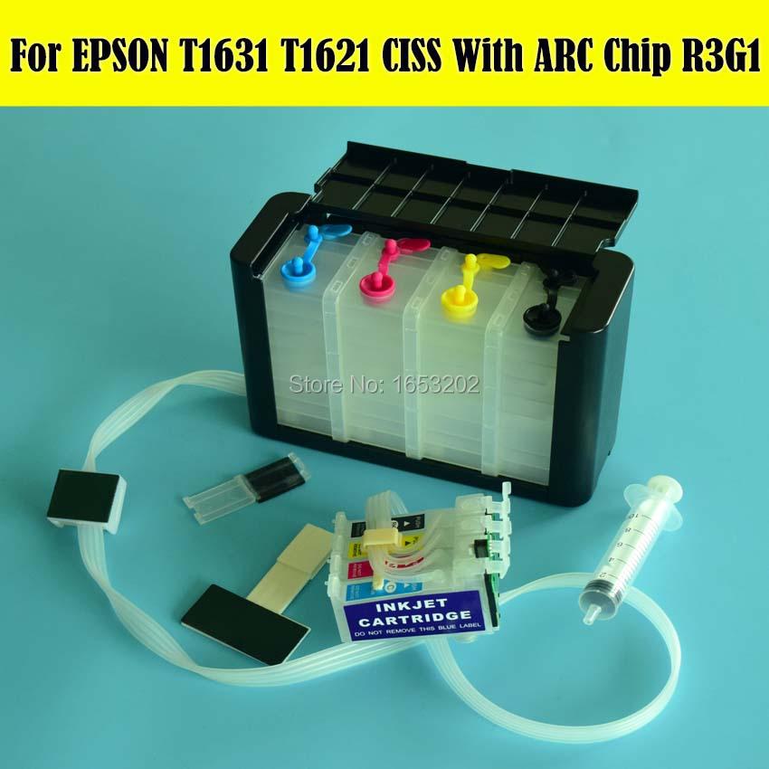 EPSON T1631 T1621 Ciss 4