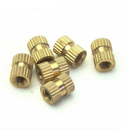 Injection of copper nut insert embedded parts knurled M5X10 outer diameter 71 one thousand<br><br>Aliexpress