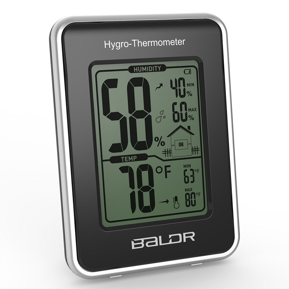 2015 Electronic Thermometer Hygrometer Station with Current Humidity and Temperature Indicator Digital Display(China (Mainland))