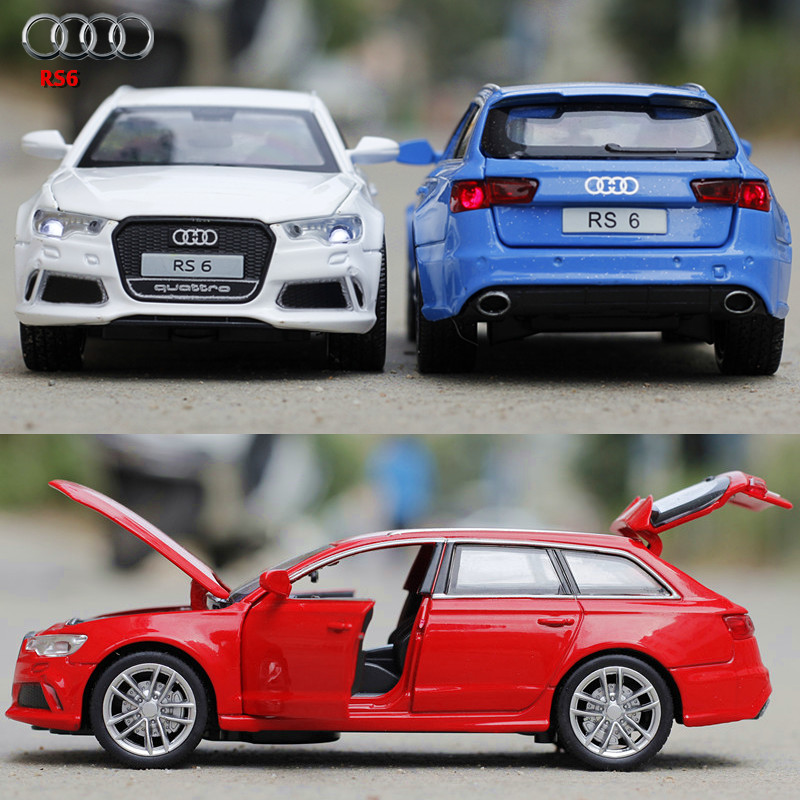 NEW 1:32 Audi rs6 Toys Car Classic Alloy Antique Car Model collectors Christmas gift doll(China (Mainland))