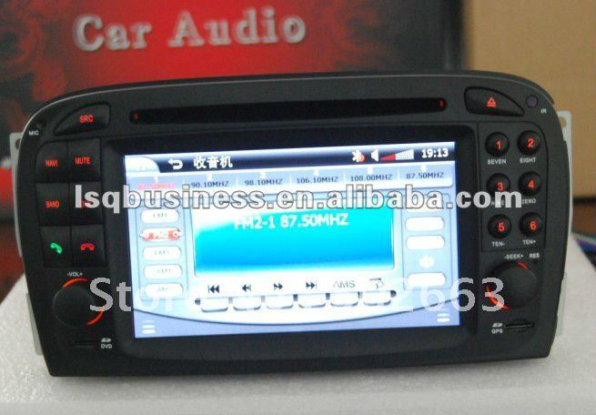 Mercedes Benz SL R230 2001-2007 car dvd with gps navi & hot selling(China (Mainland))