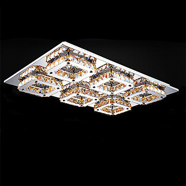 Modern LED Crystal Ceiling Light With 6 Lights For Living Room Lamp Home Lightng Fixtures,Lamparas Techo Lustres De Sala Teto<br><br>Aliexpress