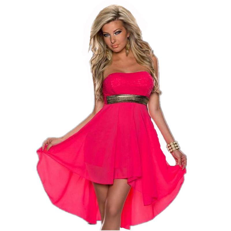 Strapless Summer Dresses for Women