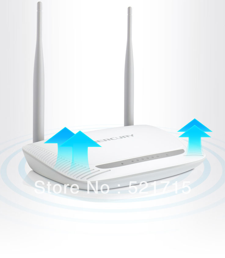 Promotional discounts MW300R 300Mbps 4 Port High Speed Wireless N Router wireless wifi free shipping(China (Mainland))