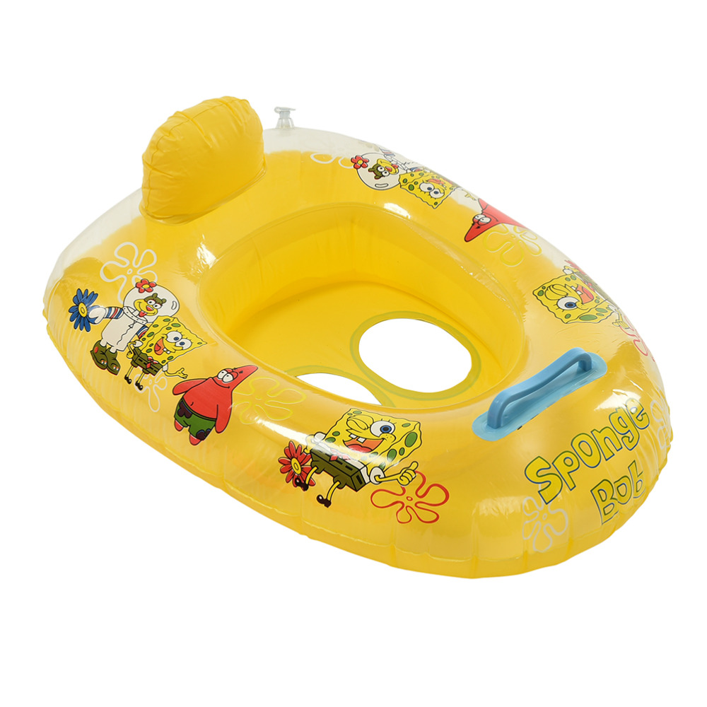 1PCS Cute Kids Baby Child Seat Float Boat For Water Sports Inflatable Swimming Laps Pool Swim Ring(China (Mainland))