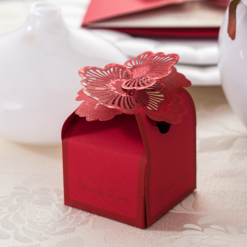 wedding favors candy boxes wedding candy box red candy bags diy