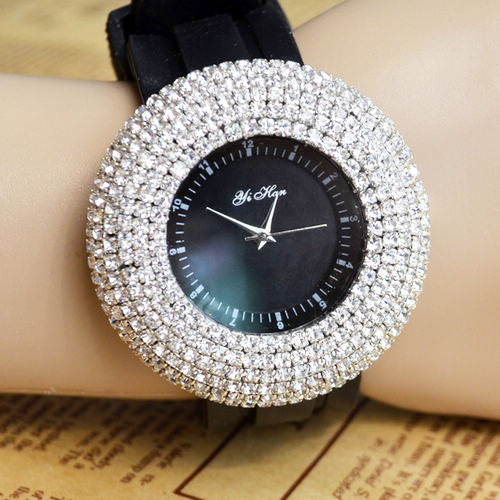 Купить Наручные часы Женские с камнями КНР АВ15903
