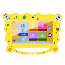 7 inch kids tablet pc A23 dual core 1.5GHz ch android 4.4 Children cartoon tablet 512MB / 8GB Dual camera WiFi Gifts for baby