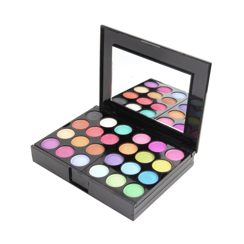 Professional Make Up Palette Set Eyeshadow Lip Gloss Foundation Powder Blusher Puff Tool Beauty New Fashion(China (Mainland))
