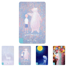 Fuzzy picture Coloured Drawing Fashion 5600mAh Power Bank External Battery Portable Slim Charger