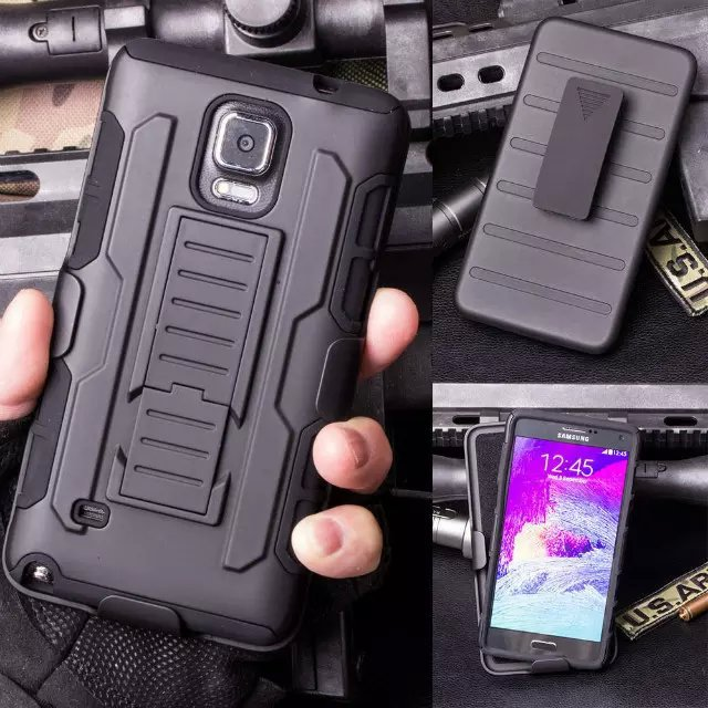 New Military Future Armor Cell Phone Case Heavy Duty Combo Impact Cover For Samsung Galaxy Note 4/ Note 3/ S4/ S3 Hybrid Rugged(China (Mainland))