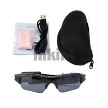 Mobile Eyewear Mini Video Recorder Sunglasses Glasses Camera DV 30Fps Black SG003H 16 Z(China (Mainland))