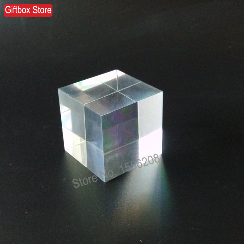 60mm thickness clear plexiglass solid display block for Plastic blocks for crafts