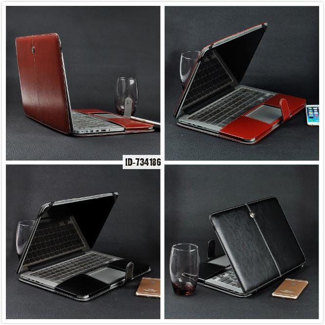 """Notebook Laptop Leather Sleeve Case Bag For 11.6"""" Macbook Air 11 Keyboard Cover Us Euro Computer Carrying Handbag(China (Mainland))"""