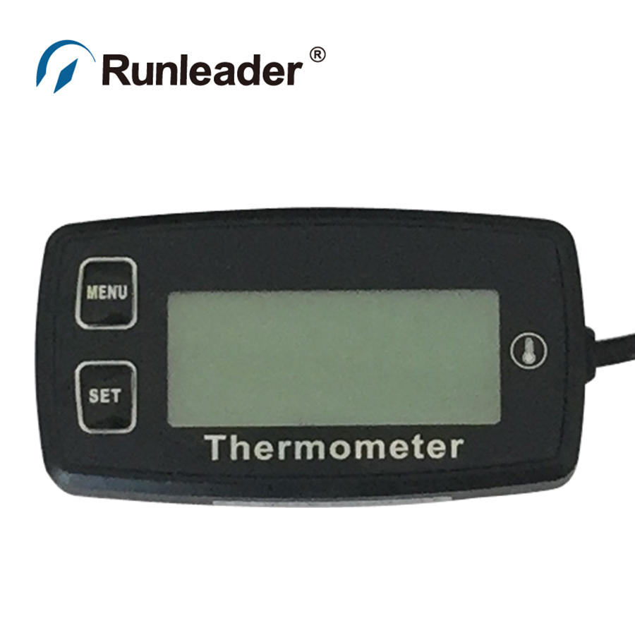 Runleader RL-TS003 NTC -20- +150 TEMP METER thermometer meter for tractor ATV motorcycle generator mower tiller water oil(China (Mainland))