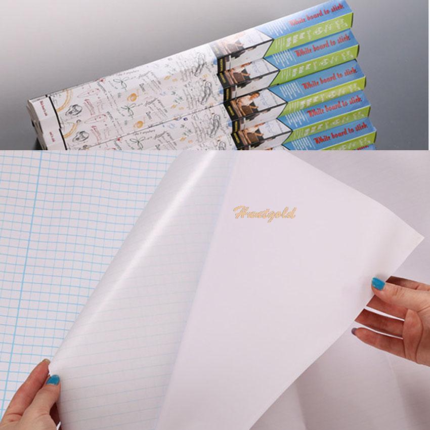 Гаджет  New Office Tech Note Message Paper Board Whiteboard Wall Sticker + Marker Pen 1PC None Офисные и Школьные принадлежности