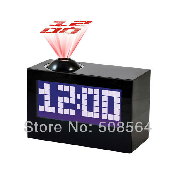 New Multi-Function Talking Projection Alarm Clock Digital LED Projector Clock(China (Mainland))