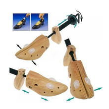 FW1S Professional Useful Lady High Heel Shoes Tree Wooden Stretcher Support Shaper(China (Mainland))