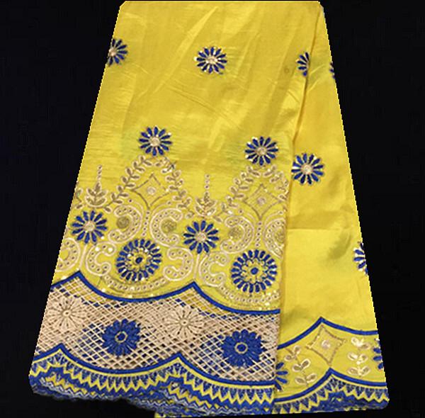 Здесь можно купить  (5yards/lot)HYL28-2! High Quality Gorgeous African French Lace Fabric Nigerian Sequin Embroidered George Fabric Royalblue!  Дом и Сад