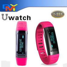 Водонепроницаемый bluetooth-смарт браслеты U9 USee U часы наручные Smartwatch шагомер wi-fi горячие точки для iPhone андроид анти-потерянный
