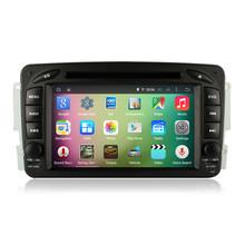 7″ Android 5.1 Quad Core Car Stereo Audio Autoradio Head Unit for Mercedes Benz W209 W203 Vito Viano Vaneo W639 W638 W168 W463