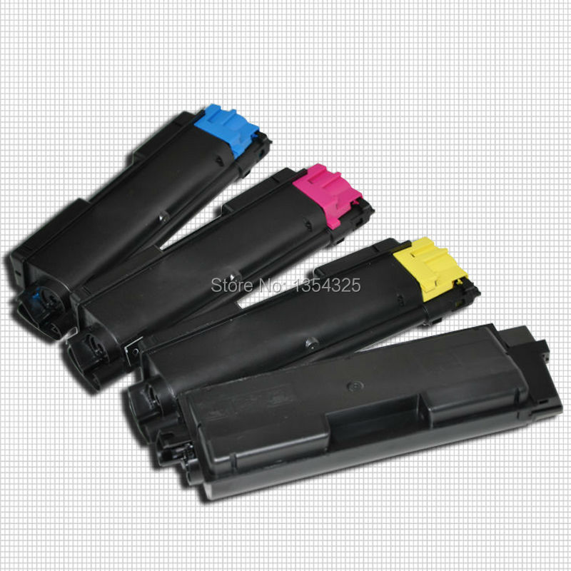 4PC Lot Compatible color toner cartridge For Kyocera ECOSYS M6026cdn Toner KIT TK 590 TK 592