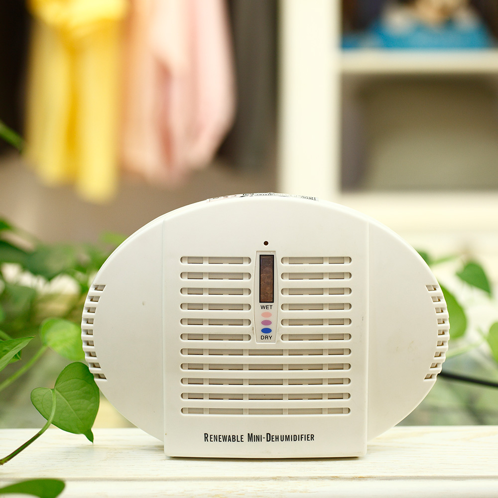 Homeleader Portable quiet Rechargeable wireless Mini-Dehumidifier room office moisture 25W White J02-012<br><br>Aliexpress