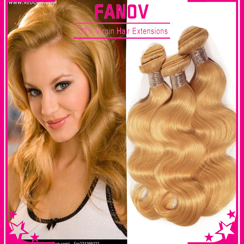 7A Rosa Hair Products Malaysian Body Wave Blonde Hair Unprocessed Virgin Hair Weave Malaysian Blonde Hair Extensions 27# 3bundle<br><br>Aliexpress