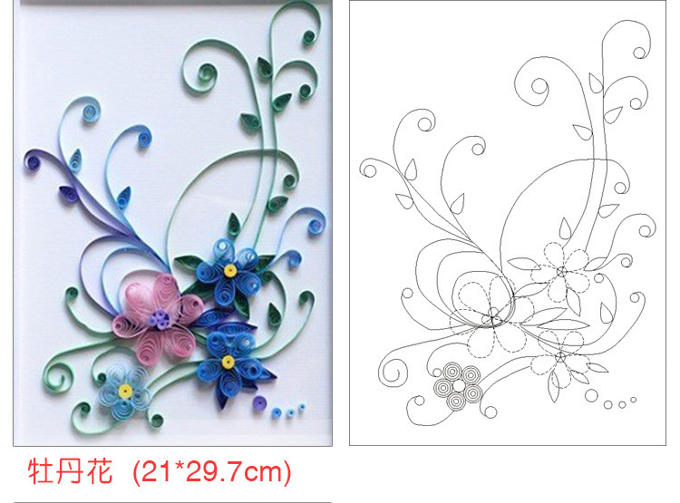 pin paper quilling patterns free on pinterest