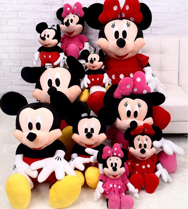 Top Selling 30cm Cute Mouse & Minnie Plush Toys Stuffed Soft Toy Stuffed Animals Toys Dolls Child Kids Toys Gift Minion Juguetes(China (Mainland))