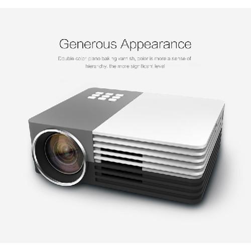 Ts 50 mini projector hdmi portable lcd projector reviews for Small lcd projector reviews