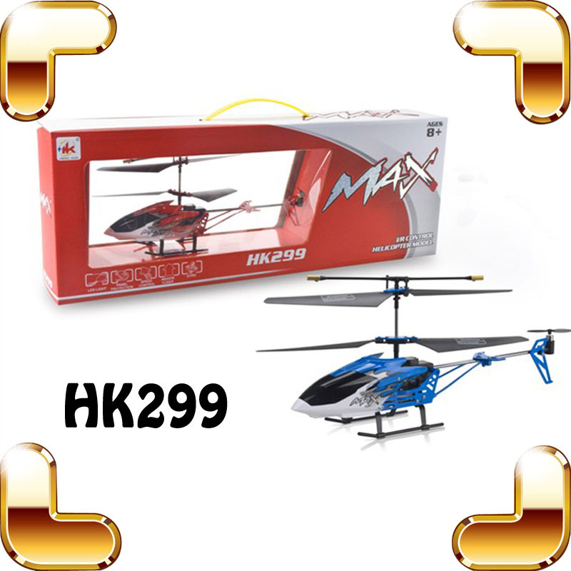 Free Shipping HK299 Three Color version! 3.5Channel LED Light Gyro  RC Helicopter RTF I/R RC Airplane Electic Toys <br><br>Aliexpress
