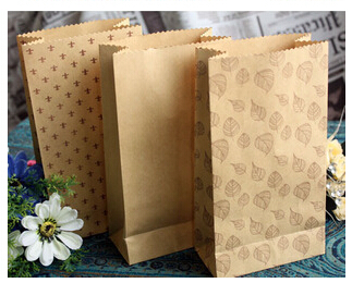 Wedding Gift Bag Snacks : Gift Bags Coffee Paper Bag Snack/ Sandwich / Cake / Bread Food Bags ...