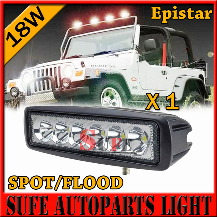 New 18W MINI LED Light Bar for offroad truck tractor CREE LED Work Light SUV ATV 4X4 LED Driving Light 36W 27W(China (Mainland))