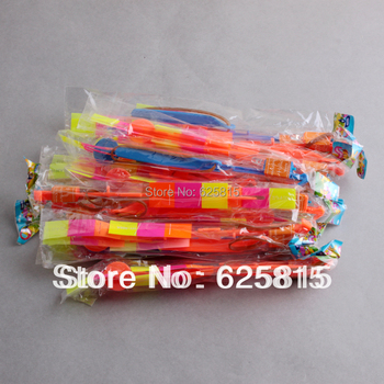 Hot Sale 12pcs/lot 2013 Newest Toy Flying Arrow Christmas Toys Rocket Parachute For Children 30-343