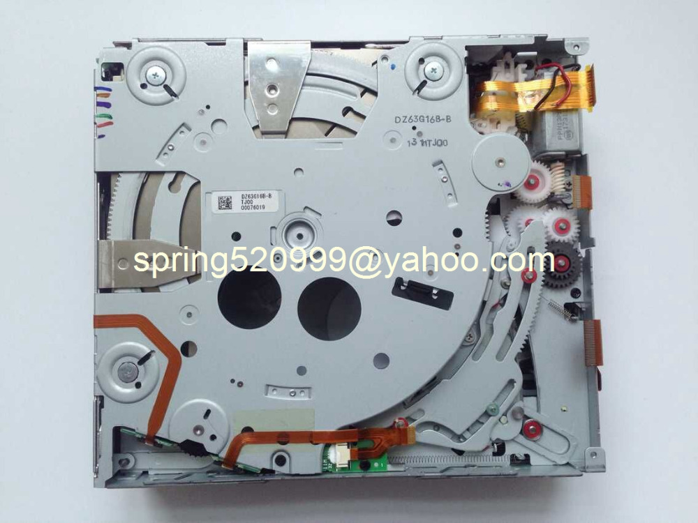 Alpine 6CD/DVD changer mechanism without PCB for Mercedes Acura BMW car DVD navigation audio systems(China (Mainland))