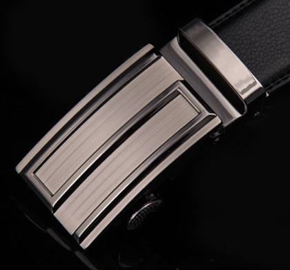 2014 new arrival wholesale auto buckles genuine leather men belts hot sale men brand leather belts(China (Mainland))