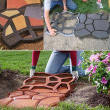 Fashion 2016 hot sales garden decorative plastic molded paving cement concrete pavement paving mold mold(China (Mainland))